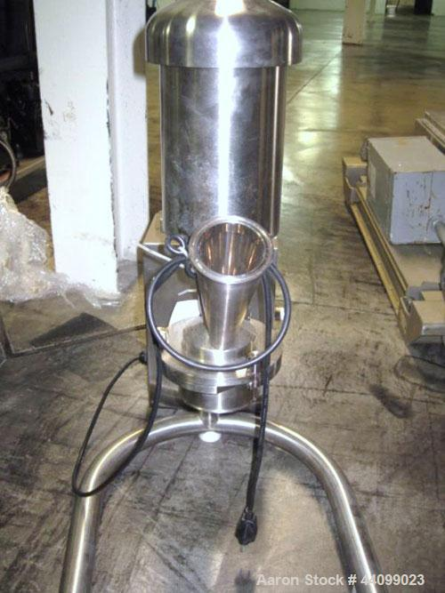 Used- Quadro Comil, Model 193, Stainless Steel. Bench top design. Serial# 0118.