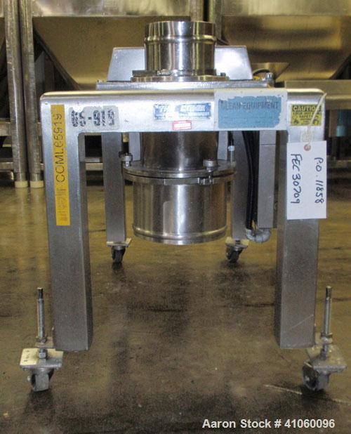 "Used- Quadro Comil, Model 194S, 316 Stainless Steel. Approximate 8"" diameter impeller with screen, approximate capacity up t..."