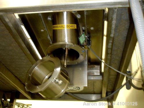 """Used- Quadro Comil, model 194-S, stainless steel construction, 8"""" diameter screen, mezzanine mounted with 5 hp, 230/460 volt..."""