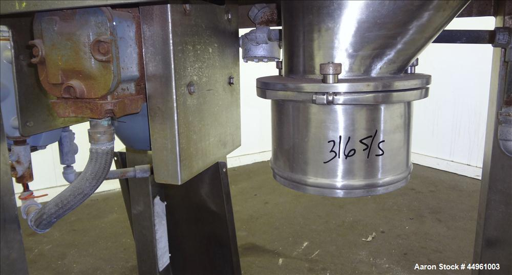 Used- Stainless Steel Quadro Comil, Model 194S