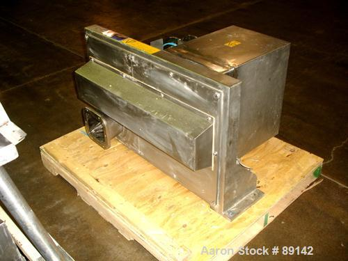 """Used- Quadro Comil, Model 194S, Stainless Steel. Approximate 8"""" diameter impeller, no screen, Approximate capacity up to 400..."""