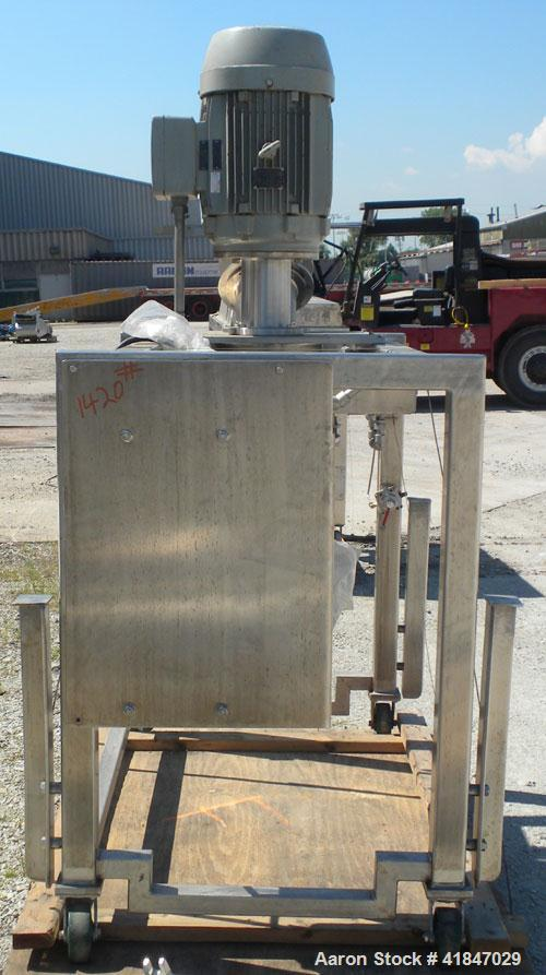 "Used- Quadro Comil, Model 196, 316 Stainless Steel. Requires an approximate 12"" diameter screen.  Approximate capacity up to..."
