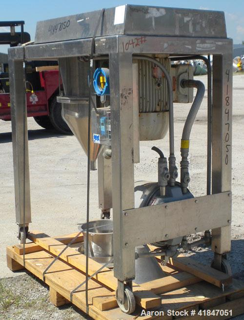 "Used- Quadro Comil, Model 196, 316 Stainless Steel. Approximate 12"" diameter screen,  Approximate capacity up to 8000 pounds..."
