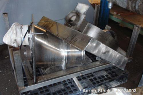 Used- Stainless Steel Quadro Comil, Model 196S,