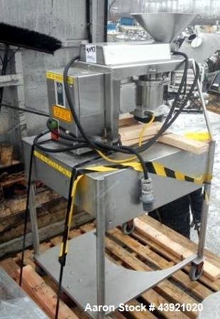 Used- Quadro Comil, Model 197S, Stainless Steel Construction. With beater, screen and discharge chute, serial# 197-0286.