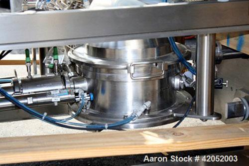 Unused- Quadro Comil, Model U20, 316L Stainless Steel. Mirror internal polish, 304 stainless steel non-contact surfaces. CIP...
