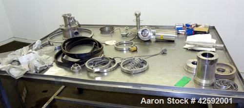 Used- Stainless Steel Quadro Ytron ZC High Speed Disperser, Model ZC3