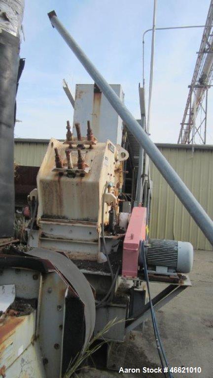 Used- Stedman Hammer Mill, Model GS24X2RAR.