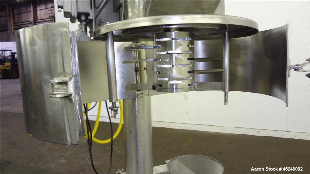 Used- Stainless Steel Stokes Tornado Mill, Model 44