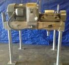 Used- Fitzmill Hammermill ,Model FAS012, 2600 Series. Currently installed with 24 blades, 2