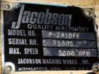 Used- Jacobson Series 1 Full Circle Hammermill, Model P-241DFF, Carbon Steel.Approximately 14