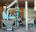 Used- Jacobson Hammer Mill, Model P195TDF, Carbon Steel