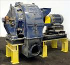 Used- Prater Dual-Screen Triple Reduction Hammer Mill, Model DF-11, Carbon Steel