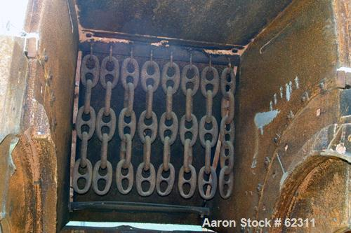 Used- Universal Model HMIR-06-NC Non-Clog (modified 7260) Hammermill Shredder