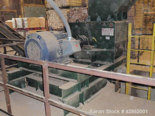 Used-Williams Hammermill, Model 30KS, 150 hp, 1750 rpm. Includes base, infeed chute and extra set of hammers. Manufactured 1...