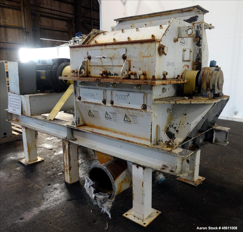 Used- Williams 300 HP Carbon Steel Hammermill