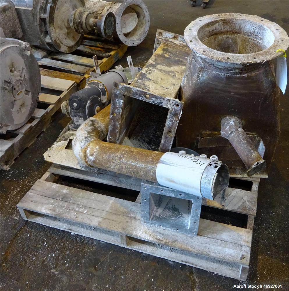 "Used- CE Raymond 35"" Vertical Mill System, Carbon Steel."