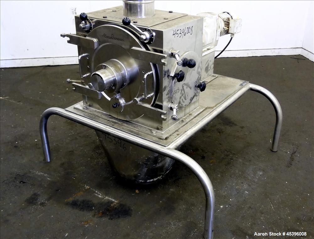 Used- Stainless Steel Alexanderwerk Rotor Fine Granulator, Model RFG 350 V