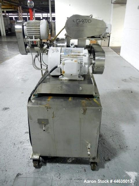 Used- Stainless Steel Bepex Pulvocron Air Swept Pulverizer Classifer, Model PCS1