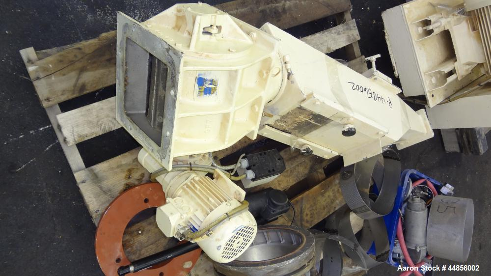 Used- Hosokawa Alpine UPZ Fine Impact Mill, Model 250 UPZ, Carbon Steel. (1) Swing type beater with (8) bolt on tip blades, ...