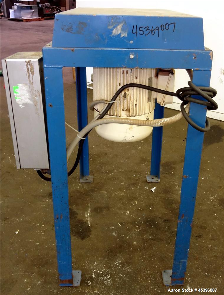 Used- Stainless Steel Quadro Comil, Model 196SI