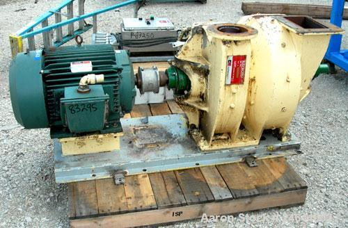 "Used- Raymond Air Swept Swing Hammer Impact Mill, Carbon Steel. 6"" x 10"" Feed, 6"" discharge. Approx 16"" diameter rotor with ..."