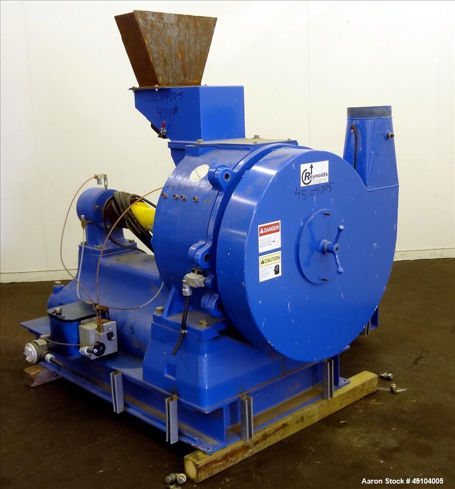 Used- Carbon Steel Reynolds Engineering Impact Mill, Model 28-H