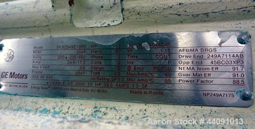 """Used- Strong Scott Pulvocron Air Swept Combination Pulverizer / Classifier Mill, Model PC-38, Carbon Steel. Approximate 38"""" ..."""