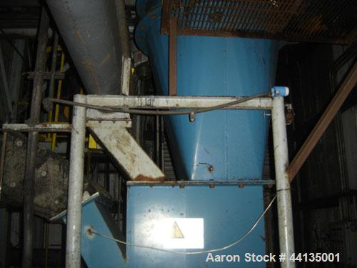 Used-Williams Air Swept Impact Dryer Mill System, Model 230NF.100 Hp drive motor. Heavy duty V-belt drive with OSHA guard. D...