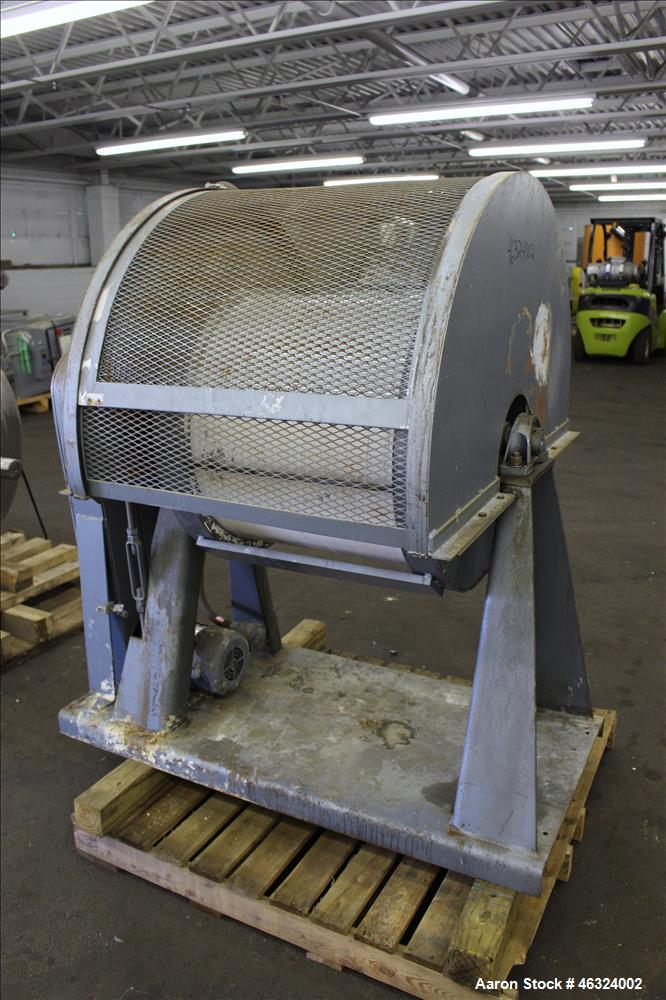 Used- Paul O. Abbe Trunnion Mounted Jar Mill, Model 5A
