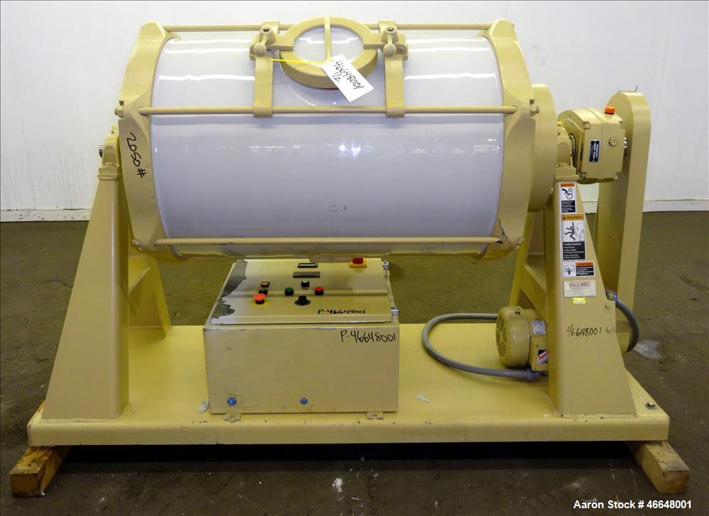 Used- Paul O. Abbe 1 Piece Ceramic Mill, Model JM-300.