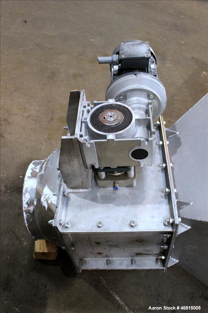 Used- LumpBreaker, 304 Stainless Steel.