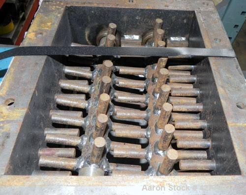 "Used- Jacobson Dual Rotor Lump Breaker, Carbon Steel. 12'' x 8-7/8'' Feed opening. (2) Approximately 1-1/4"" diameter shafts ..."