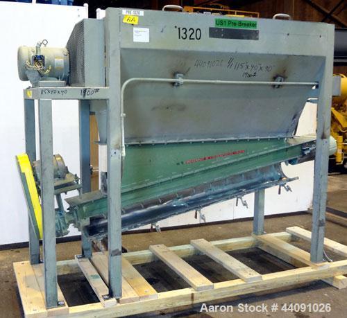 Used- Carbon Steel Pre-Breaker