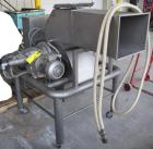Used- Chocotech Lump Breaker, Type BC2, Stainless Steel. Dual shaft unit with internal cooling and intermeshing blades. Each...