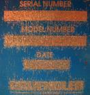 USED: Gruendler twin shaft lump breaker, model FB4109, carbon steel. 16