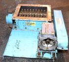 Used- Jacobson Dual Rotor Lump Breaker, Carbon Steel. 12'' x 8-7/8'' Feed opening. (2) Approximately 1-1/4