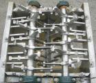 Used- Lump Breaker, dual shaft, 304 stainless steel. (1) 4
