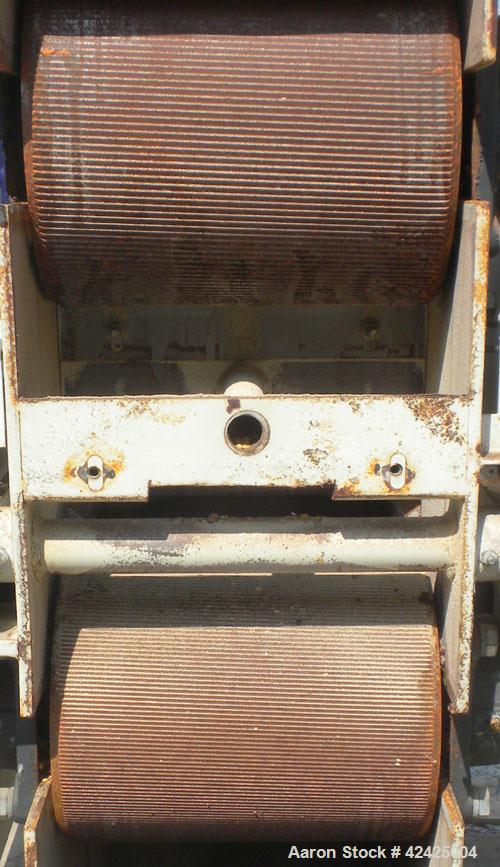 Used- Carbon Steel Farrell-Ross Roller Mill, Model 10 X 12M