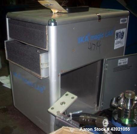 Used- Stainless Steel IKA Powder Liquid Mixer, Model Magic Lab