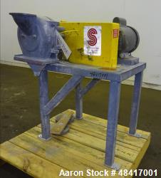 Used- Sturtevant Sample Grinder, Model O-6, Carbon Steel.