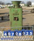 Used- Denver Equipment Size #2 Coffee Mill/ Cone Crusher, carbon steel. Approximate 12