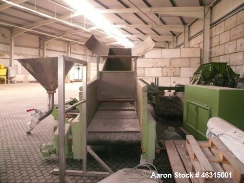 Used- Crushing Line Zeno with Cutting Mill