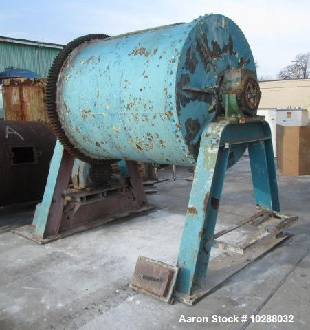 Used-Patterson 5' x 6' Pebble Mill, alumina brick lined