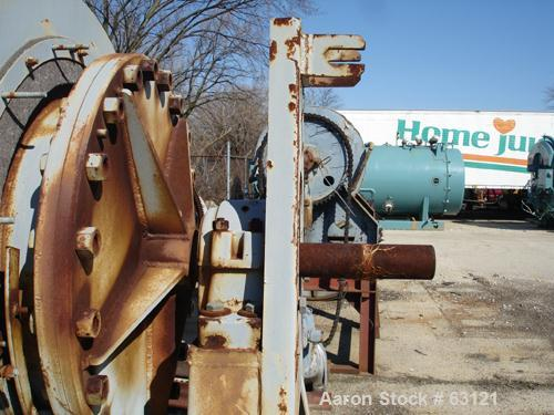 """Used- Patterson Type Ball Mill, Carbon Steel.  2' Dameter x 3' long. 8 Cubic feet total capacity. 12-1/2"""" x 8-1/4"""" charging ..."""