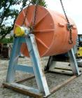 USED: Paul O Abbe Pebble Mill, carbon steel. Non-jacketed, high density porcelain lined chamber 6' diameter x 6' long. 16