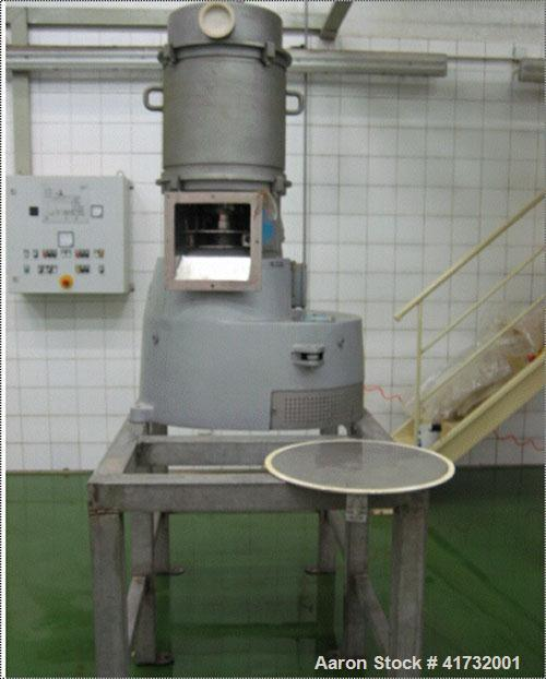 Used- Amandus Kahl Pellet Mill, Model 33-390. Designed for the compression of food, feed, nutritional supplement and pharmac...