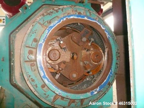 "Used- Pelletting Press, Andritz UMT Paladin 3000-300/2R BM, 536hp (400kW). Die diameter approximately 39"" (1000mm), width ap..."