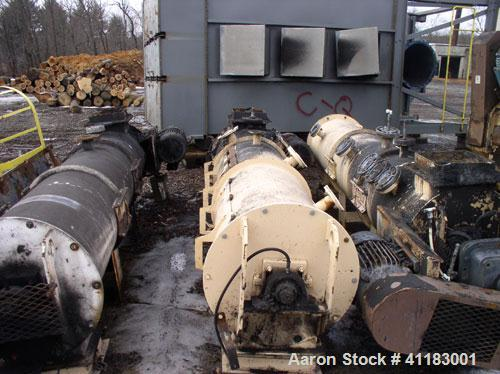 Used-Bliss Industries Pioneer 200D-250 Pellet Mill including (2) 200 hp motors. With Bliss R-2412 conditioner, with 20 hp mo...