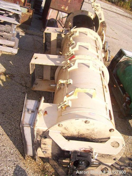 Used-Bliss Pionees model B-200A. 400 hp thru (2) 200 hp, 1200 rpm motors. 1 set of rolls, 1 die, feed chute, stainless steel...